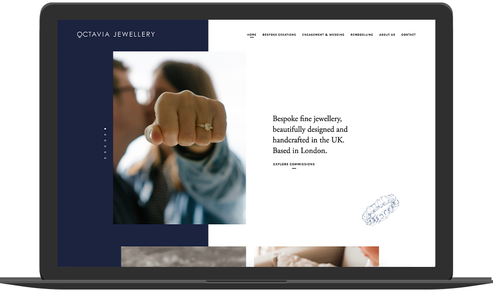 Jessica Spokes A Professional Freelance Web Designer & Freelance Front-End Developer Surrey & London UK